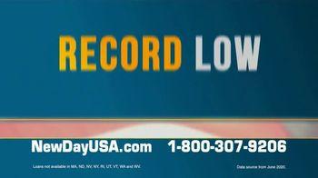 NewDay USA VA Streamline Refi TV Spot, 'New All Time Lows' - Thumbnail 2