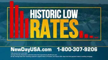 NewDay USA VA Streamline Refi TV Spot, 'New All Time Lows' - Thumbnail 8