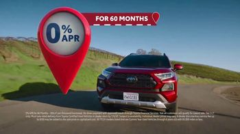 Toyota 4th of July Sales Event TV Spot, 'Go Time: Certified Used Vehicles' [T2] - Thumbnail 4