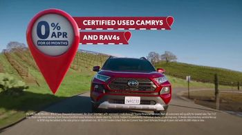 Toyota 4th of July Sales Event TV Spot, 'Go Time: Certified Used Vehicles' [T2] - Thumbnail 5