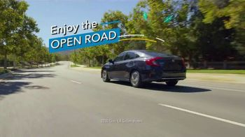 Honda TV Spot, 'Enjoy the Open Road: Sedans' [T2] - 16 commercial airings
