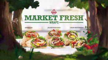 Arby's Market Fresh Wraps TV Spot, 'A New Day' Song by YOGI - Thumbnail 8