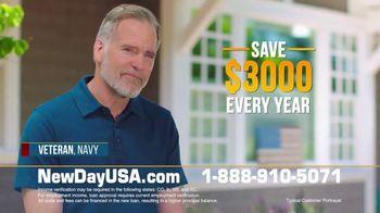 NewDay USA VA Streamline REFI TV Spot, 'All Veterans' - Thumbnail 4