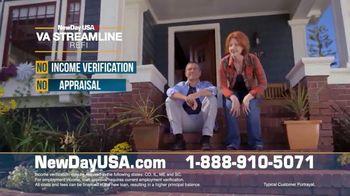 NewDay USA VA Streamline REFI TV Spot, 'All Veterans' - Thumbnail 5
