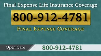 Open Care Insurance Services Final Expense Life Insurance TV Spot, 'Losing Friends' - Thumbnail 8