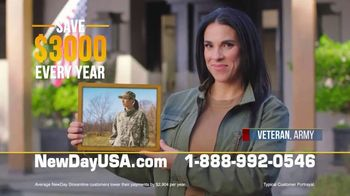 NewDay USA TV Spot, 'Rates Even Lower: Save $3,000 a Year' - Thumbnail 4