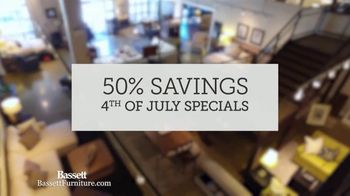Bassett 4th of July Sale TV Spot, 'Welcoming You Back' - Thumbnail 4
