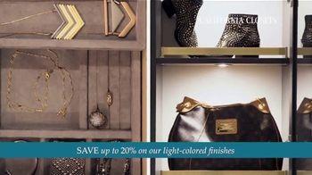 California Closets TV Spot, 'Every Visit: Save 20 Percent' - Thumbnail 5
