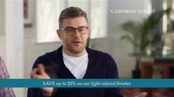 California Closets TV Spot, 'Every Visit: Save 20 Percent' - Thumbnail 7