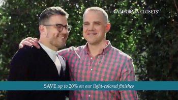 California Closets TV Spot, 'Every Visit: Save 20 Percent' - Thumbnail 8