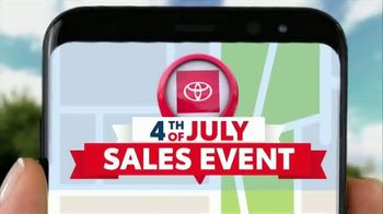 Toyota 4th of July Sales Event TV Spot, 'Go Time' [T2]