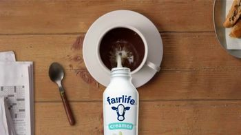 Fairlife TV Spot, '50 Percent: Creamer' - Thumbnail 8