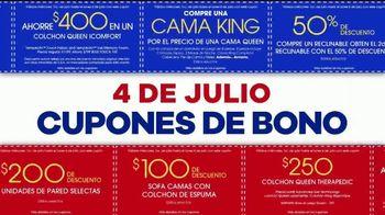 Rooms to Go Venta de Cupón por el 4 de Julio TV Spot, 'Compras fáciles: 60 meses' [Spanish] - Thumbnail 3