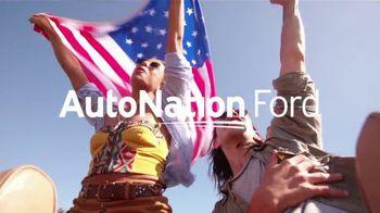 AutoNation Ford July 4th Event TV Spot, 'Big Savings: Zero Percent Financing'