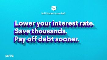 SoFi Student Loan Refinancing TV Spot, 'SoFi Members Get Their Student Debt Right: Jamie' Song by Labrinth - Thumbnail 4