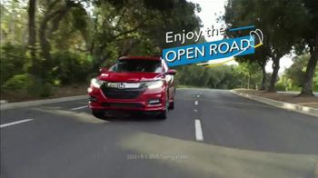 Honda TV Spot, 'Enjoy the Open Road: SUVs' [T2] - 1612 commercial airings