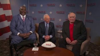 American Heroes: A Salute to Veterans TV Spot, '4th of July: Heartfelt Thanks' Feat. Terry Bradshaw - 1 commercial airings