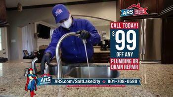 ARS Rescue Rooter TV Spot, 'Leaky Faucet: $99 Off Plumbing or Drain Repair'
