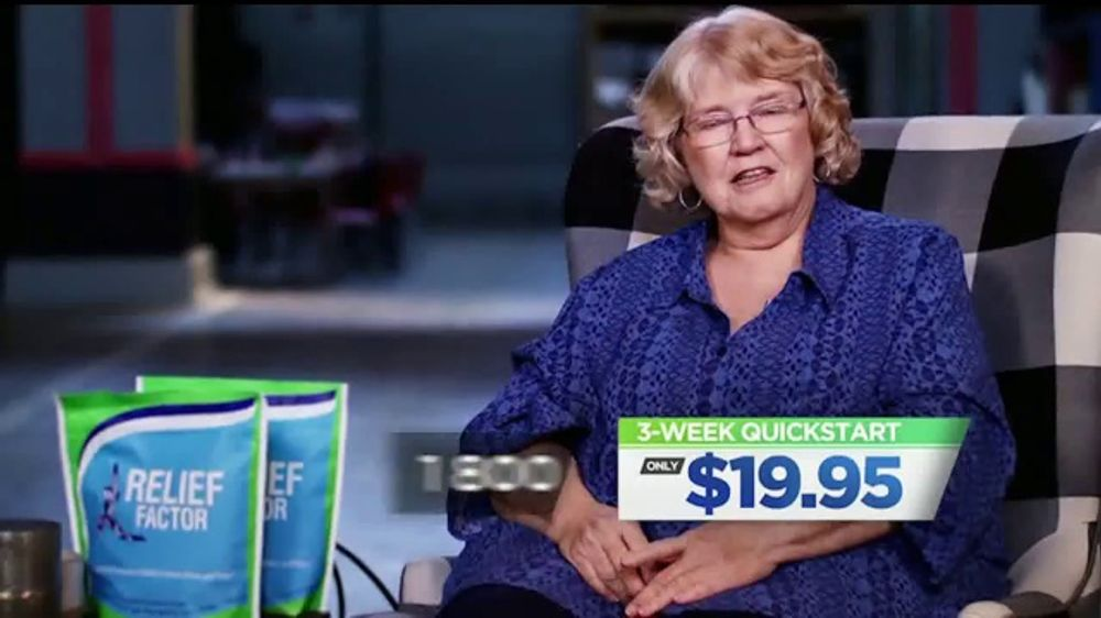 Relief Factor TV Commercial, 'Julie's Story'