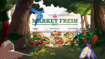 Arby's Market Fresh Wraps TV Spot, 'Magic Window' Song by YOGI - Thumbnail 5