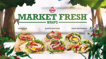 Arby's Market Fresh Wraps TV Spot, 'Magic Window' Song by YOGI - Thumbnail 6