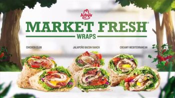 Arby's Market Fresh Wraps TV Spot, 'Magic Window' Song by YOGI - Thumbnail 7