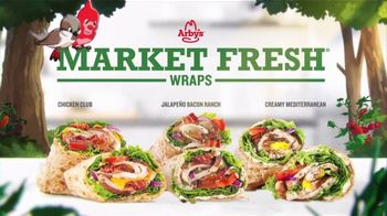 Arby's Market Fresh Wraps TV Spot, 'Magic Window' Song by YOGI - Thumbnail 8