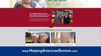 Helping America's Seniors TV Spot, 'Television Program Website' - Thumbnail 5