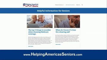 Helping America's Seniors TV Spot, 'Television Program Website' - Thumbnail 7