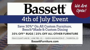 Bassett 4th of July Event TV Spot, 'Time for Custom Furniture' - Thumbnail 8