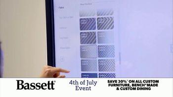 Bassett 4th of July Event TV Spot, 'Time for Custom Furniture' - Thumbnail 3