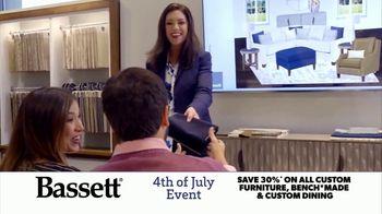 Bassett 4th of July Event TV Spot, 'Time for Custom Furniture' - Thumbnail 4