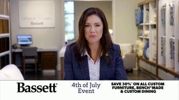 Bassett 4th of July Event TV Spot, 'Time for Custom Furniture' - Thumbnail 6