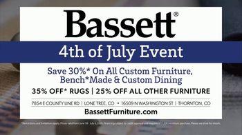 Bassett 4th of July Event TV Spot, 'Time for Custom Furniture' - Thumbnail 7