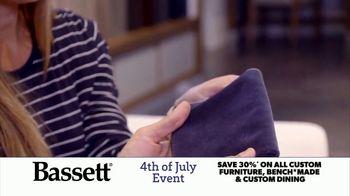 Bassett 4th of July Event TV Spot, 'Time for Custom Furniture'