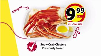 Winn-Dixie TV Spot, 'Red, White & Win: Roast and Snow Crab' - Thumbnail 5