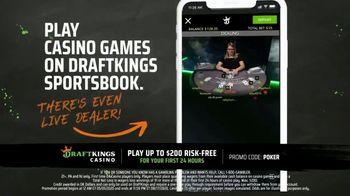 DraftKings Sportsbook TV Spot, 'Mobile Casino' - Thumbnail 2