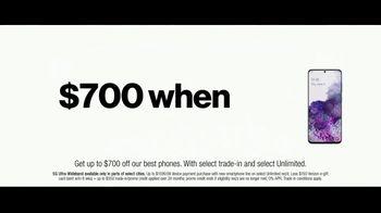 Verizon TV Spot, 'Unlimited Built Right: $700 Switcher' - Thumbnail 6