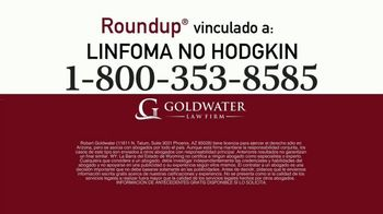 Goldwater Law Firm TV Spot, 'Atención: Linfoma: dos minutos' [Spanish] - Thumbnail 5