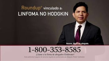 Goldwater Law Firm TV Spot, 'Atención: Linfoma: dos minutos' [Spanish]