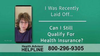 The Health Advisors Helpline TV Spot, 'Recent Events'