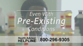 The Health Advisors Helpline TV Spot, 'Recent Events' - Thumbnail 6