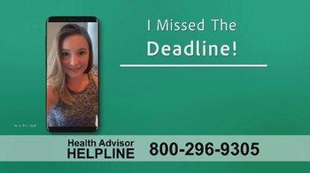 The Health Advisors Helpline TV Spot, 'Recent Events' - Thumbnail 7