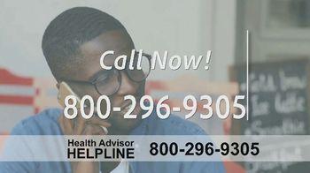 The Health Advisors Helpline TV Spot, 'Recent Events' - Thumbnail 9