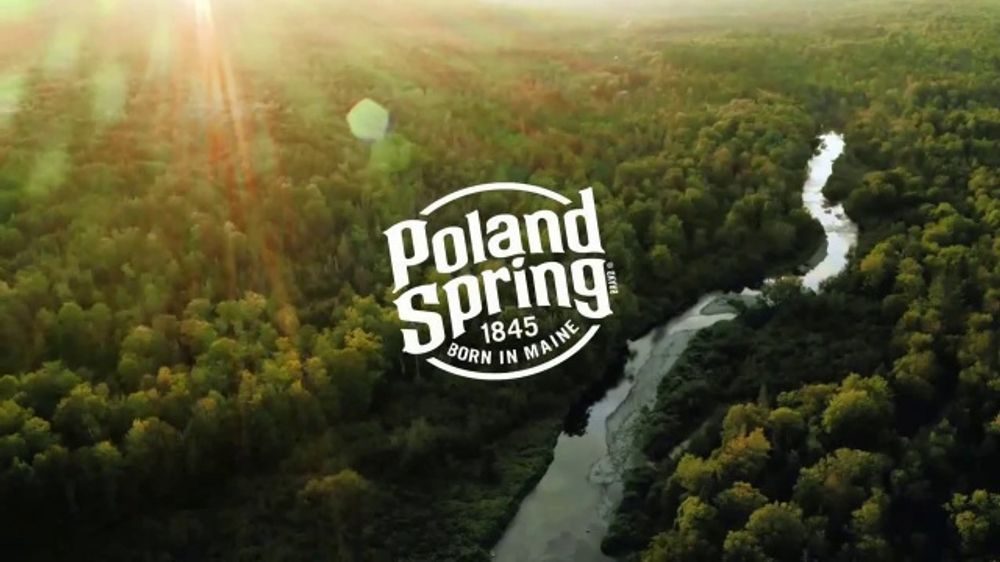 Poland Spring Natural Spring Water Origin TV Commercial, 'I Come From Springs'