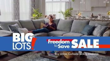 Big Lots Freedom to Save Sale TV Spot, 'Broyhill Sectionals' - Thumbnail 10