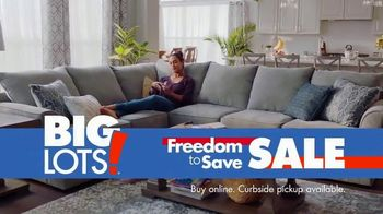 Big Lots Freedom to Save Sale TV Spot, 'Broyhill Sectionals' - Thumbnail 9