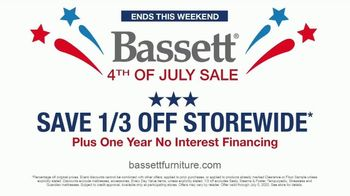 Bassett 4th of July Sale TV Spot, 'Stores Reopening and Your Choice' - Thumbnail 8