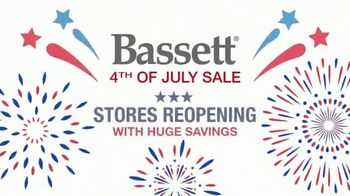 Bassett 4th of July Sale TV Spot, 'Stores Reopening and Your Choice' - Thumbnail 2
