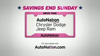 AutoNation Chrysler Jeep Dodge Ram July 4th Event TV Spot, 'Freedom From Payments' - Thumbnail 10